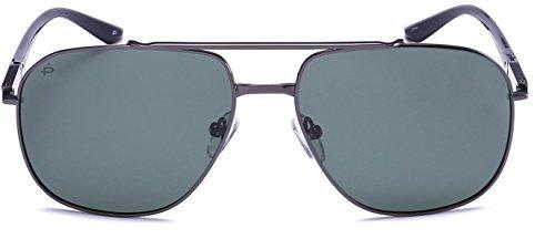 "PRIVÉ REVAUX ""The Dealer"" Handcrafted Designer Polarized Aviator Sunglasses For Men &..."