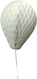 product image for 3-Pack 11 Inch Honeycomb Tissue Paper Balloon (White)