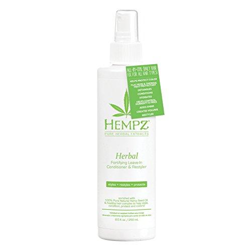 Hempz Herbal Fortifying Leave-in Conditioner & Restyler, Fresh Hemp & Citrus, 8.5 -
