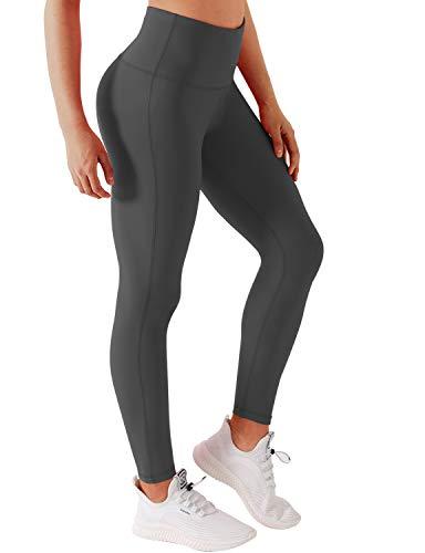 BUBBLELIME Yoga Capris Inner Pocket Running Capris High Waist Power Flex Yoga Leggings w Single Line