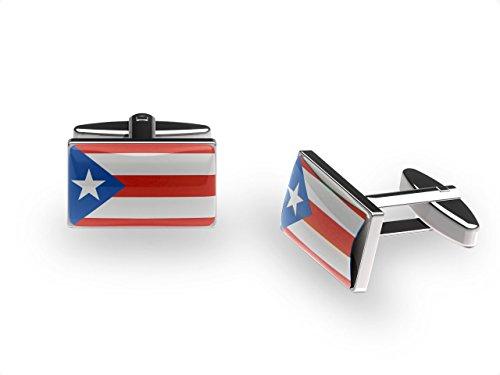 Les boutons de manchette de Porto Rico