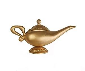 Amazon.com : Plastic Aladdin Genie Oil Lamp Costume Accessory ...
