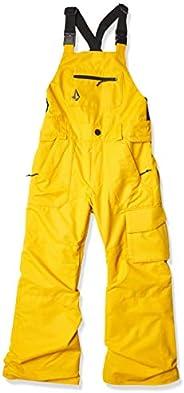 Volcom Boys Barkley Bib Overall Snowboard Pant