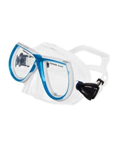 Price comparison product image Body Glove Women's EVX Snorkel Mask, Aqua