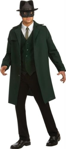 Green Hornet Costume - X-Large - Chest Size (Green Hornet Mask And Hat)