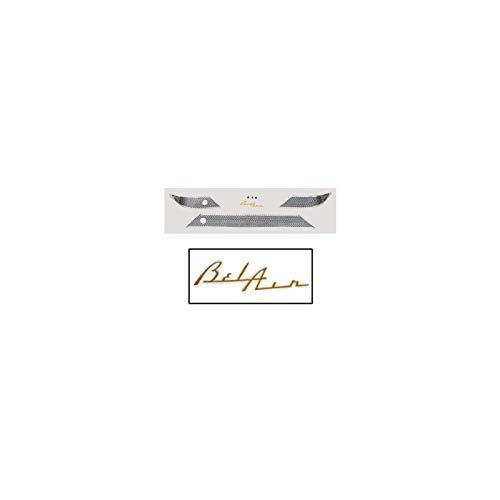 Eckler's Premier Quality Products 57-178452 Chevy Dash Trim, Bel Air, No Radio Holes