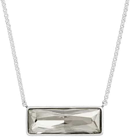 13a20f02a Silpada 'Soirée Not Sorry' White Swarovski Crystal Necklace in Sterling  Silver