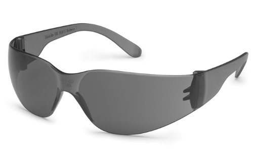 (Gateway Safety 4683 UL-Certified StarLite Safety Glasses, Gray Lens, Gray Temple (Pack of 10))