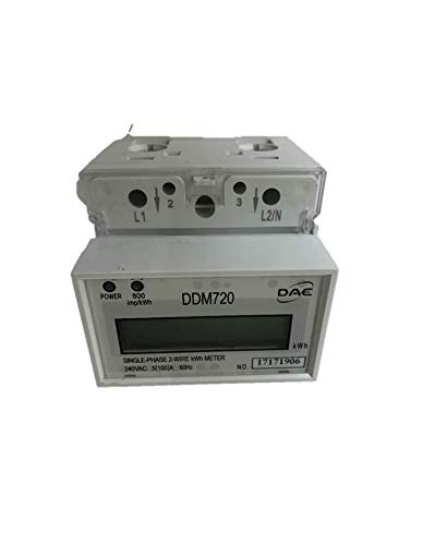 DAE DDM720 240V kWh Meter, 100 Amp, Internal CT, 60 Hz, Hot Wire Pass Through by DAE (Image #6)