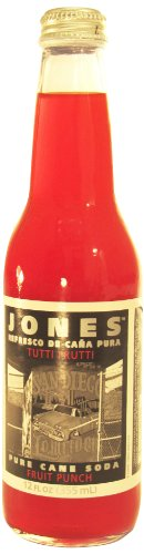 Jones Soda Fruit Punch Soda, 12-Count