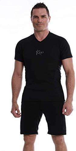 Kutting Weight Mens Neoprene Weight Loss Sauna Suit Long Sleeve Shirt