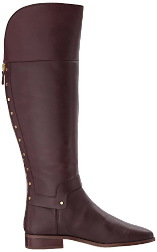 Dark Burgundy Sarto Boot Knee Roxanna Franco Women's High Fqgv7Y
