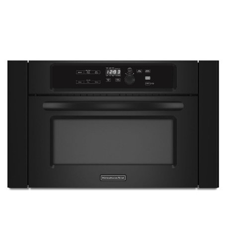 KitchenAid KBMS1454BBL Architect II 1.4 Cu. Ft. Black Built-In Microwave