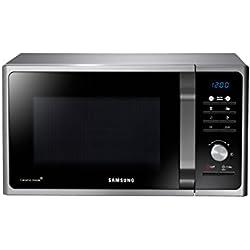 Samsung MG23F301TCS Forno a Microonde 800 W, Grill 1100 W, Capacità 23 L, Colore Grigio