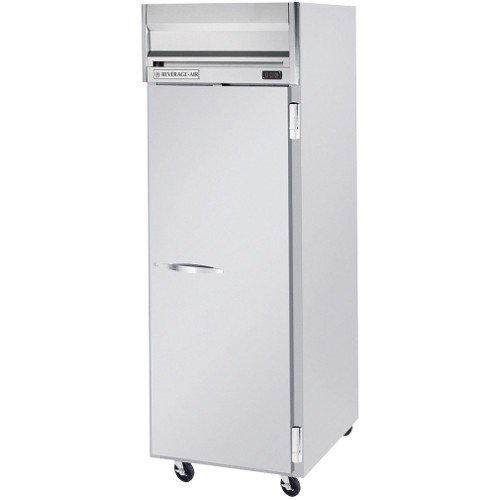 Beverage-Air Commercial Refrigerator Reach-In 1-Section Full Door Top Mount Hr1W-1S by Beverage Air