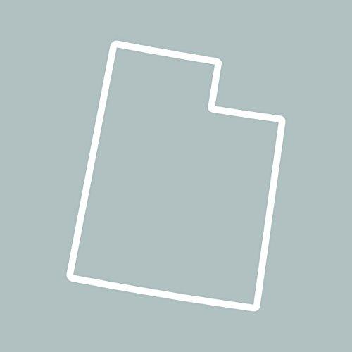 Outline Decal - Utah Outline Sticker Self Adhesive Vinyl Decal UT