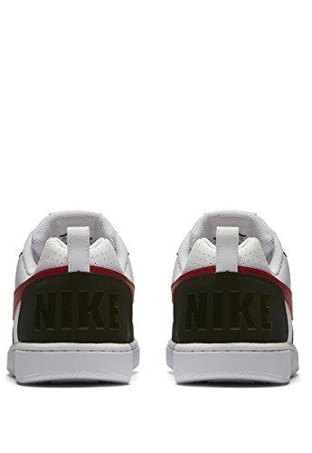 Nike Court Bianco Uomo Gym Borough Bianco Rosso Sneaker Nero 102 Low 6BHx1qwB