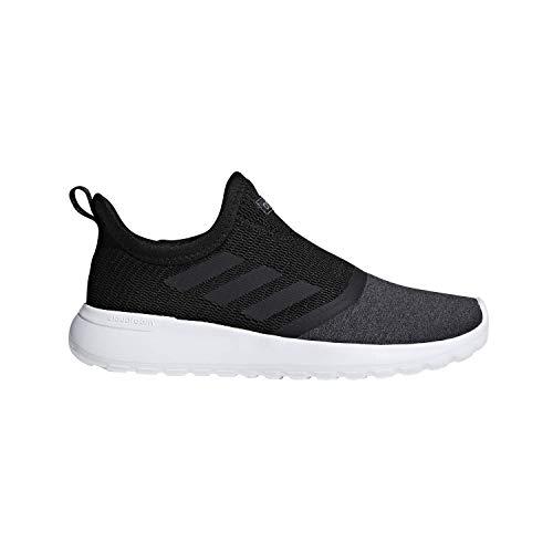 adidas W Lite Racer Slipon Black/Black/Gry Running Shoes 7 (New Adidas Basketball Shoes)