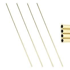 CCTVMTST 4Pcs Round Copper Brass Tubes, ...