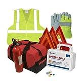 Safety and Trauma Supplies Hi-Viz All-in-One DOT OSHA Compliant Kit