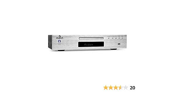 auna AV2-CD509 - Reproductor CD Alta fidelidad, Hi-Fi ...