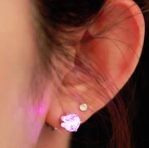 Original Night Ice LED Earrings (Purple) by Night Ice ® (Image #5)