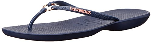 Flip Ring - Havaianas Women's Ring Flip Flop Sandal,Navy Blue, 37/38 BR(7-8 M US Women's / 6-7 M US Men's)