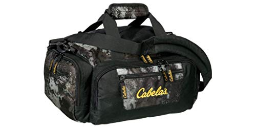 Cabela's Catch All Gear Bag, Perfect Dufflle Bag for Hunting, Fishing, Outdoor, Camping - Black ()