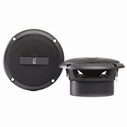 Poly-Planar Gray 3-Inch Round Flush Mount Speakers