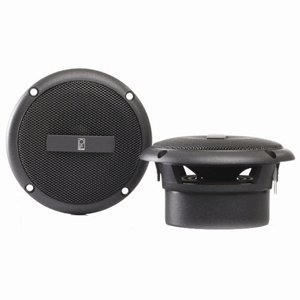 Poly Planar Gray 3 Inch Round Flush Mount Speakers