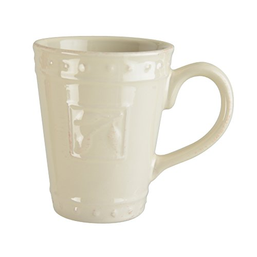 - Signature Housewares Sorrento Collection Set of 4 Mugs, 14 Ounce, Ivory