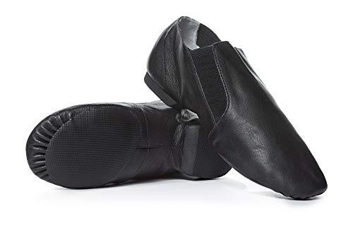 Adult Gore Insert Jazz Boot T7602BLK06.0M Black 6 M US ()