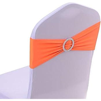 Amazon Com Ieventstar Spandex Chair Sash Cover Stretch