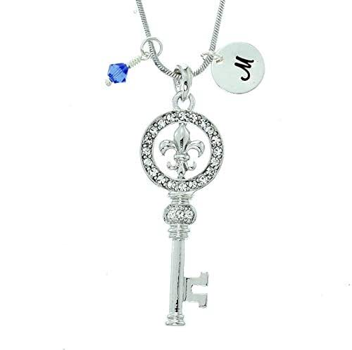 Sparkling Crystal Block Ring Chandelier: Amazon.com: Key Personalized Pendant Sparkling Crystals