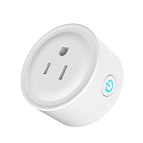 - ILLIO Brand New AC 110V-240V 10A Wifi 2.4GHz Smart Plug With Timing Function Wireless Mini Socket Outlet Dropshipping