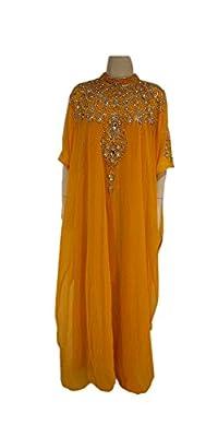 Sakhee Kaftan's Dubai Fancy Kaftan Alabiya Jalabiya Wedding Gown