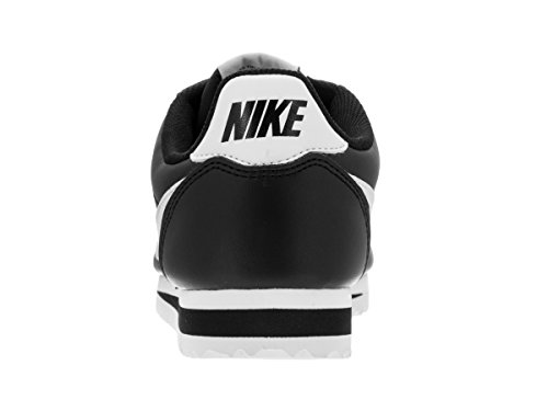 Cortez black Wmns white adulto Nike Leather Nero Unisex Classic Fitness 010 Scarpe white Da xUwEAq