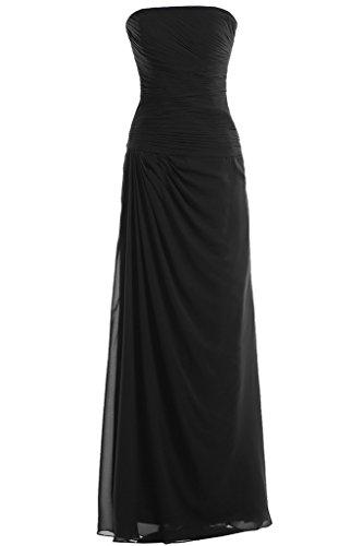 TOSKANA BRAUT - Vestido - trapecio - para mujer negro