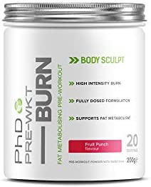 PHD Nutrition Pre Workout Burn - Fruchtpunsch - 200g