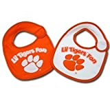 Game Day Outfitters NCAA Clemson Tigers Infant Bib 2-Piece
