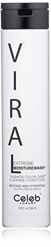 Celeb Luxury Viral Extreme Moisturewash: Hydrating Cleanse + Condition, Fashion Color Care Hydrating Hair Sulfate-Free Shampoo