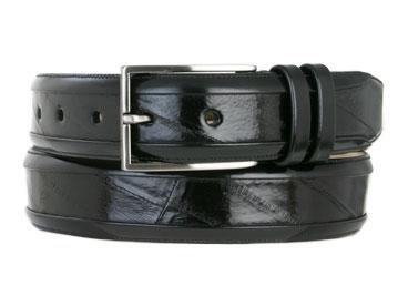[Mezlan Men's 8841 Belt Black 36