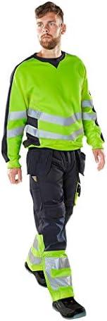 Mascot Wigton Warnschutz Sweatshirt 50126-932 - Safe Supreme Herren XL Hi-Vis Gelb/Schwarzblau