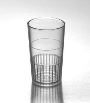 Elegante extra Heavyweight desechables (1,5 oz. Luces de neón transparente vaso de