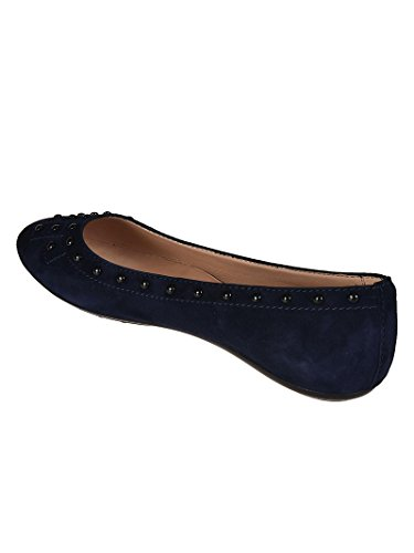 Tod's Suede Flats Pebbles Blu Donna cheap price from china buy cheap genuine classic cheap online manchester great sale cheap online FyMo0Hrnn