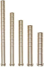 6pcs Archery Brass Arrow Weight 100/150/200/250/300 Grains Combo Screw Point Copper Insert
