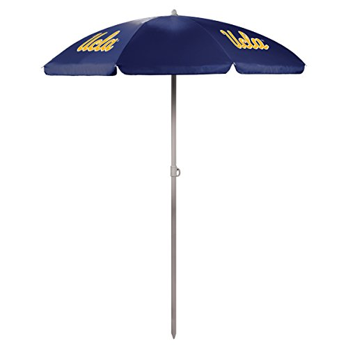 PICNIC TIME NCAA UCLA Bruins Portable Sunshade Umbrella (Bruins Ucla Drawstring Ncaa)