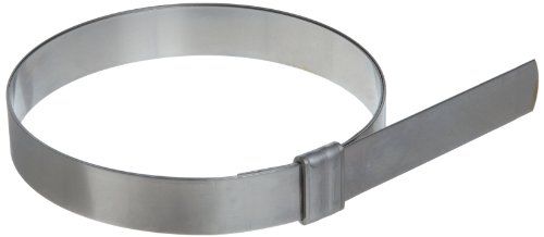 BAND-IT JS2149 Junior 3/4'' Wide x 0.030'' Thick, 4-1/2'' Diameter, 201 Stainless Steel Smooth I.D. Clamp (25 Per Box) by Band-It