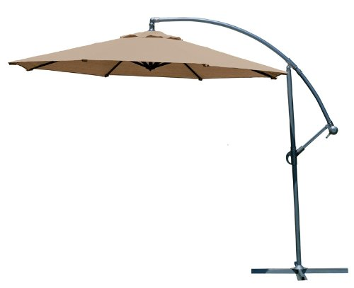 Amazon.com : Coolaroo 10 Foot Round Cantilever Freestanding Patio Umbrella,  Mocha : Patio, Lawn & Garden - Amazon.com : Coolaroo 10 Foot Round Cantilever Freestanding Patio