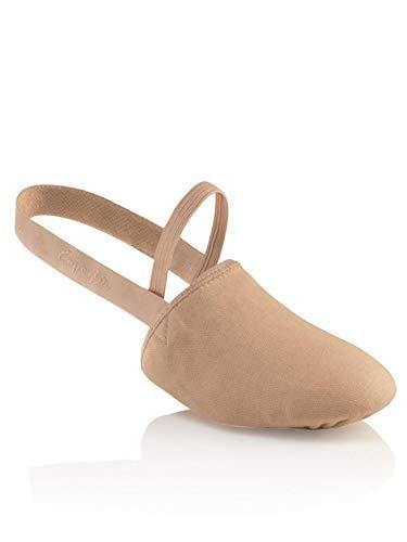 Capezio Canvas Pirouette ii Dance Shoe, Nude, Medium/8-9.5 M US